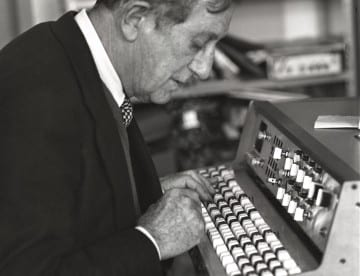 Alain Daniélou, Rome 1976, photo : Jacques Cloarec