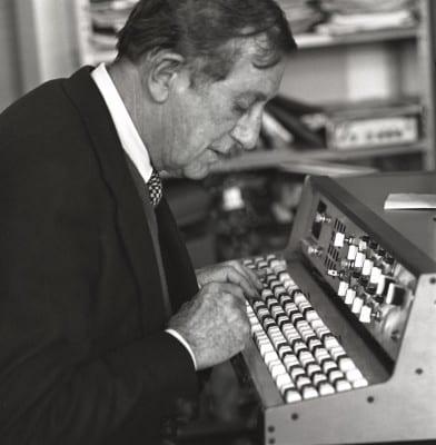 3/4 - Alain, Daniélou Berlin 1978