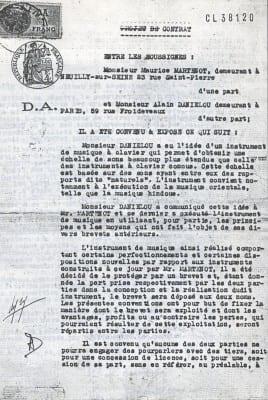 10/10 - Brevet Martenot - Daniélou, 1937