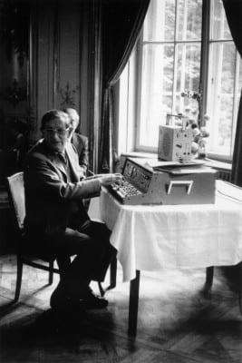2/6 - Alain Daniélou, Berlin 1978