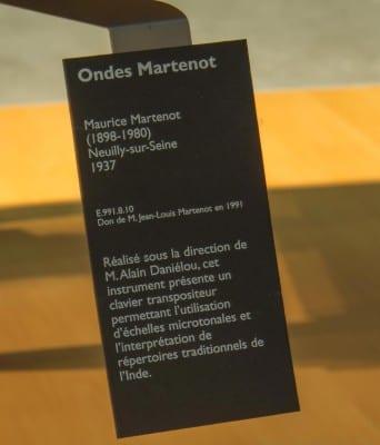 5/10 - Clavier pour ondes Martenot, Maurice Martenot, Alain Danielou, 1937. Cité de la Musique. Médiathèque de la Philharmonie de Paris.