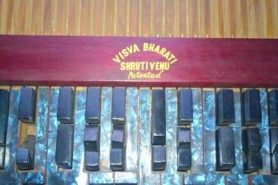 1/13 - Le Shruti Venu, réalisé à l'université Visva-Bharati