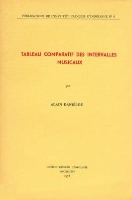 Tableau Comparatif des Intervalles Musicaux - Institut Français d'Indologie