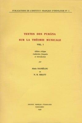 Textes des Purâna sur la théorie musicale - Institut Français d'Indologie